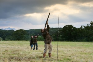 Clay pigeon shoot Dyffryn Springs