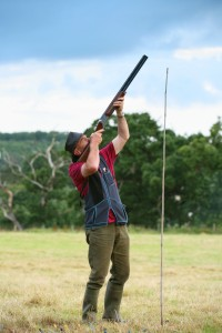 CLay pigeon shooting Dyffryn Springs